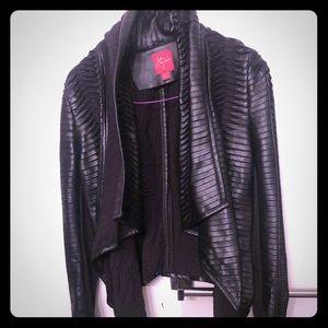 Leather unique jacket